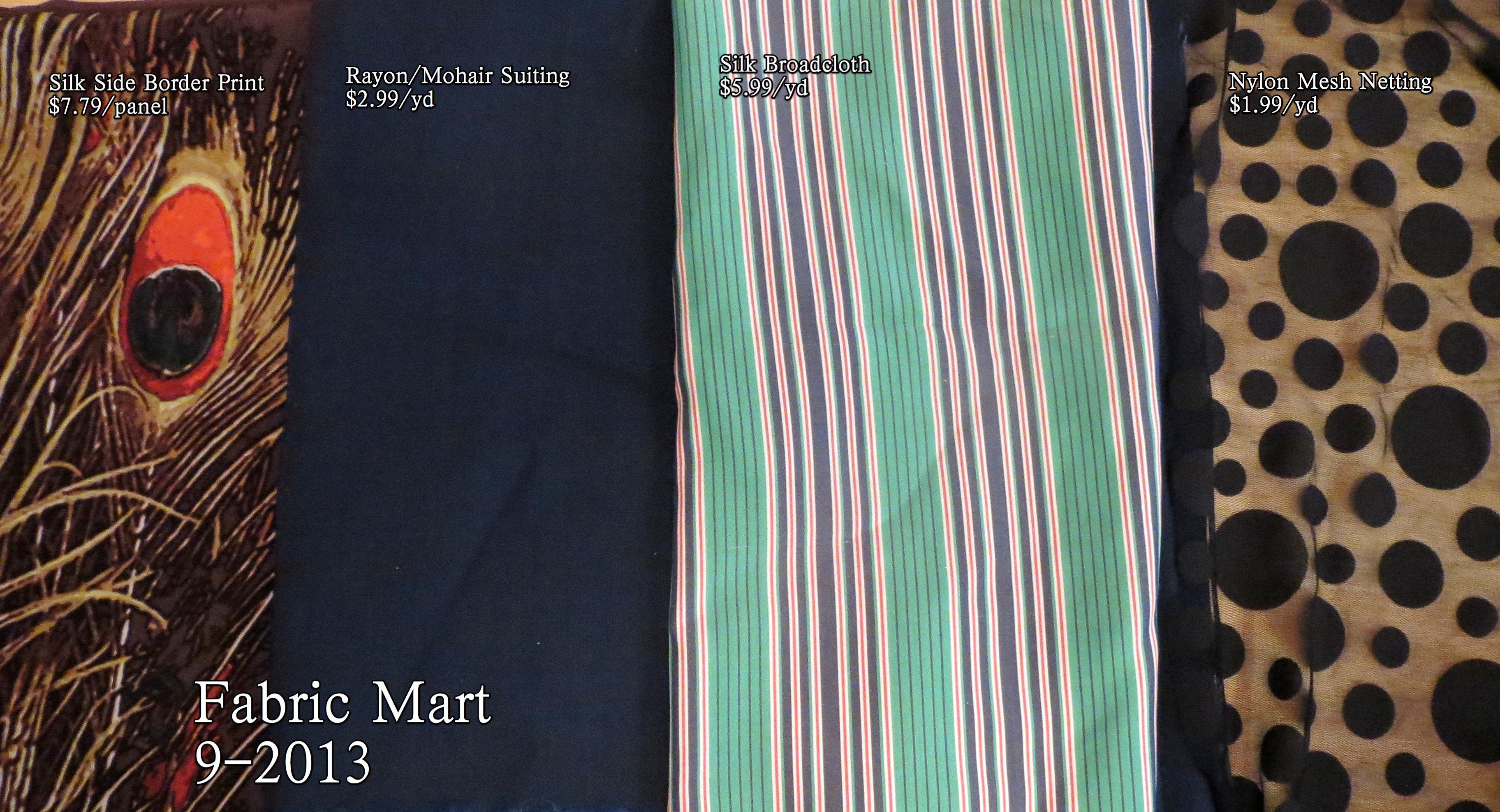Fabric Mart 9-2013