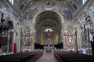Interno chiesa di San Marco