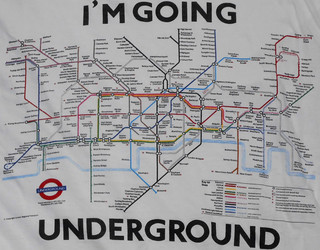 London - Underground Map Shirt (1987)