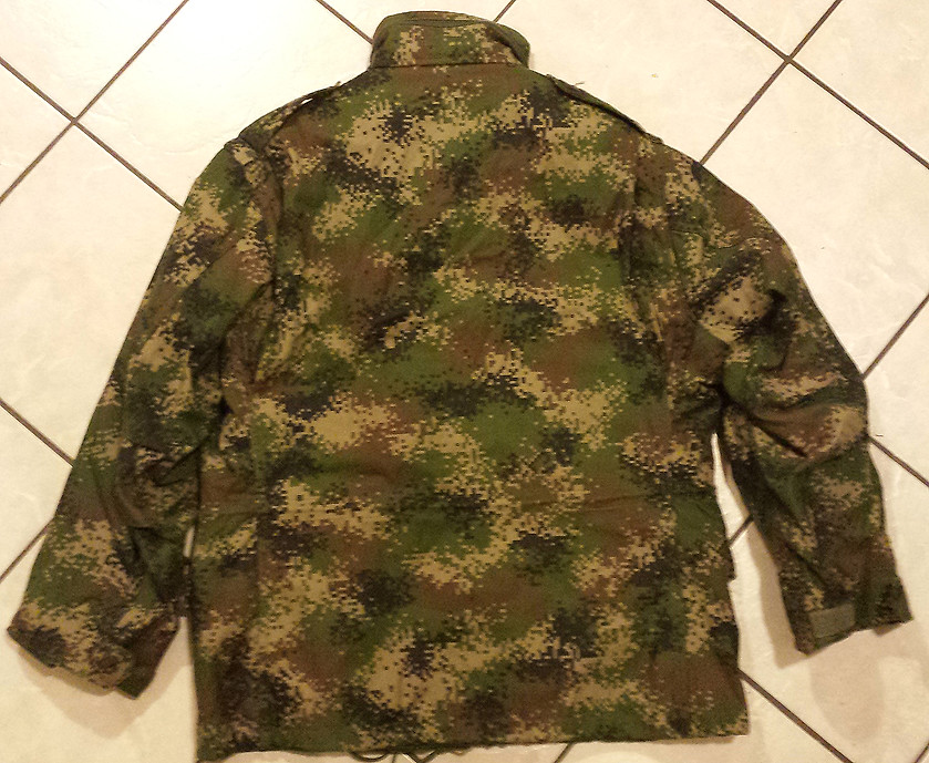 Colombian Digital Camo M65 Field Jacket with Liner 11013420496_1d23f3ebef_b