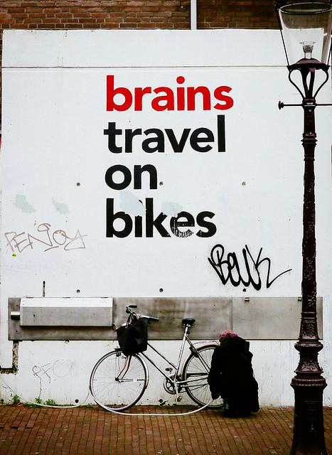 Brains Travel on Bikes