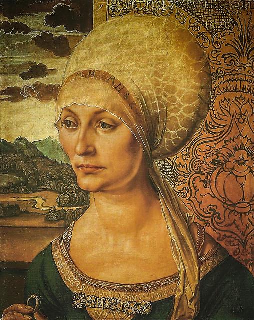Albrecht d rer portrait of elizabeth tucher 1499 for Albrecht hesse