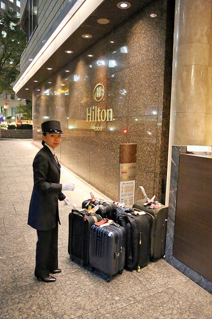 Welcome to the Hilton Tokyo
