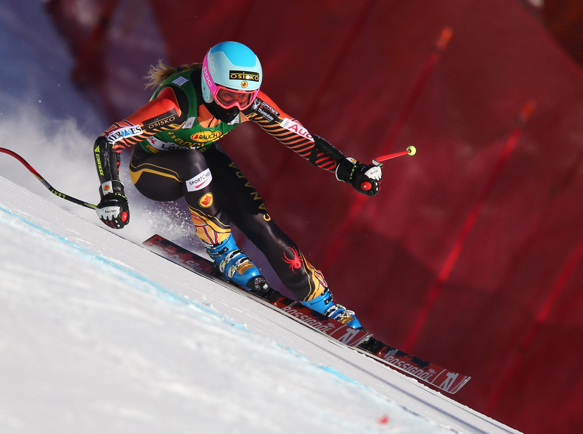 Gagnon speeds her way to a 10th place finish at the FIS Alpine World Cup in Lake Louise, CAN