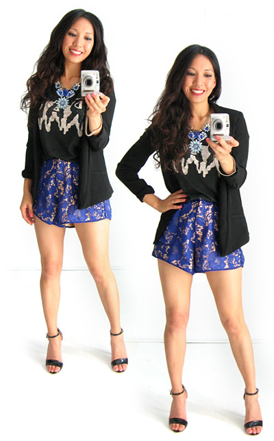 Lace Shorts by Cameo