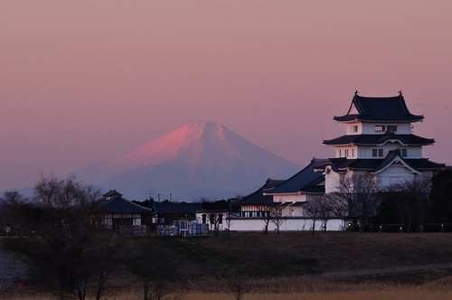 fujisan 富士山 mtfuji 遠景 遠望 紅富士