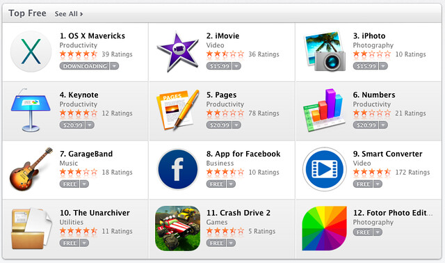 Those Top #Free Apps in the AppStore aren't all free!?