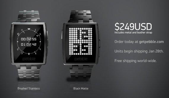 Купить часы Pebble Steel