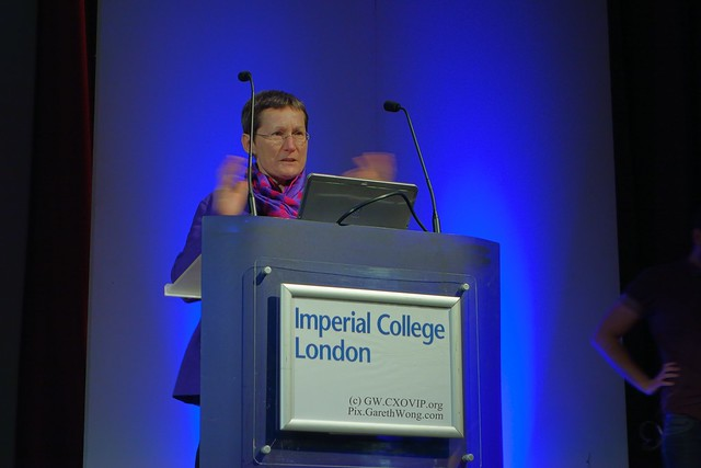 Welcome address, by Prof Debra Humphris at Imperial College @DebraHumphris from RAW _DSC6399