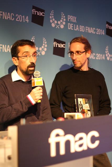 Brüno et Fabien Nury - Prix Fnac BD 2014
