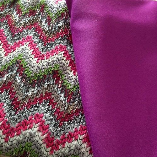 Hello, Missoni and Prada, found at @fabricplacebasement #splurge #knit #wool