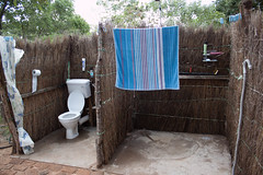 Outdoor Bathroom at the farm