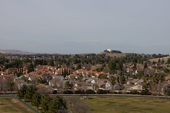 Klaus Naujok posted a photo:	From the cell tower hill above Meadow Creek Park, a view of my neighborhood towards the Water tower, where I took yesterday's photos from. Photo taken with the Konica Minolta AF DT 18–70mm @ 50mm (75mm FF).