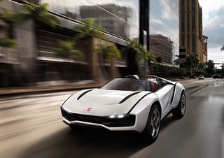Italdesign Parcour Roadster 2013 @geneva