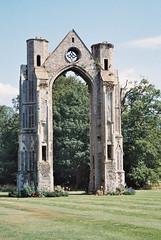 Walsingham: the abbey ruins (Norfolk)