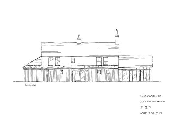 Sketch Rear Elevation