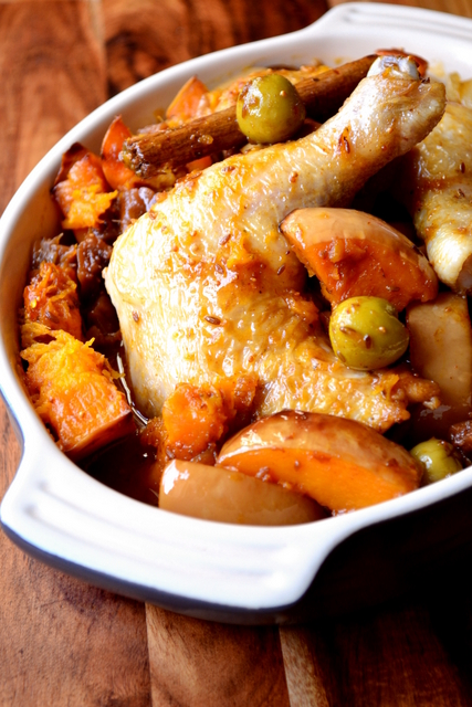 Chicken and Butternut Squash Tagine Recipe
