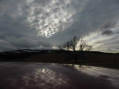 Corgarff Castle reflections