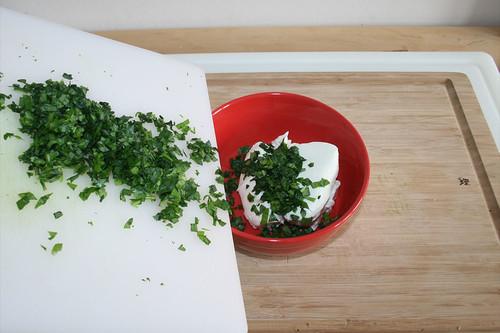 14 - Bärlauch hinzufügen / Add wild garlic