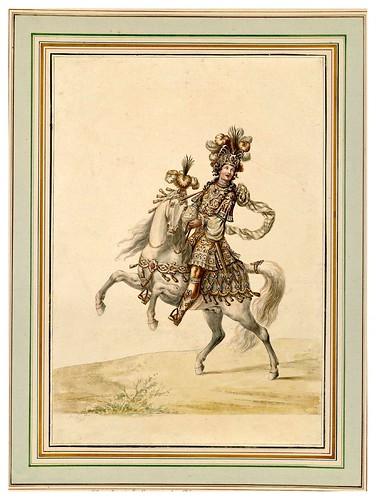 015-Carrousel des galans Maures de Grenade…1685- Jean Berain- INHA