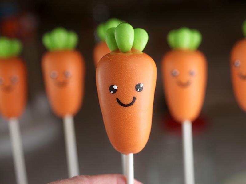Carrot Cake Pop