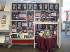 NZ Music Month 2014 display at Shirley Library