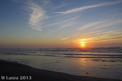 Sunrise in Surfside Beach, TX