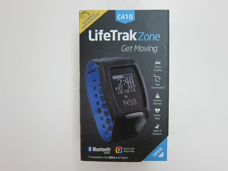 LifeTrak Zone C410 - Box Front