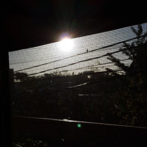 #nofilter #sunrise #sun #window #morning