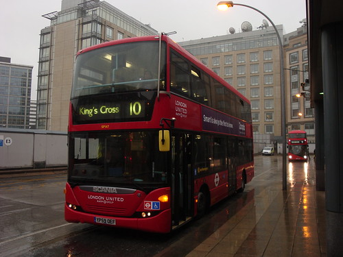 London United SP147 on Route 10, Hammersmith