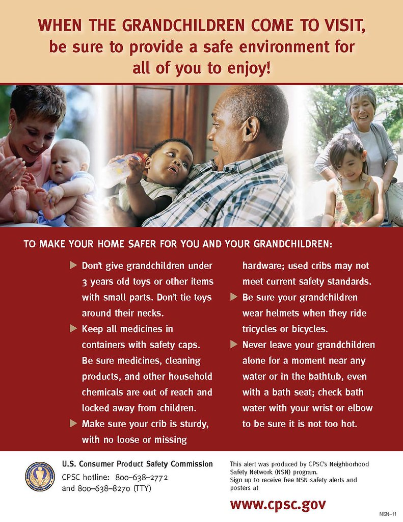 Childproofing tips for grandparents