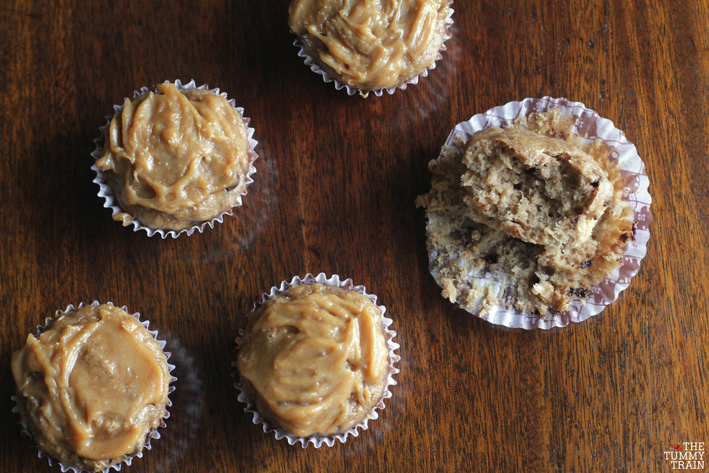 "14049945084 3806eb94bb b - Some ""Skinny"" Peanut Butter-Banana Muffins for bikini season"