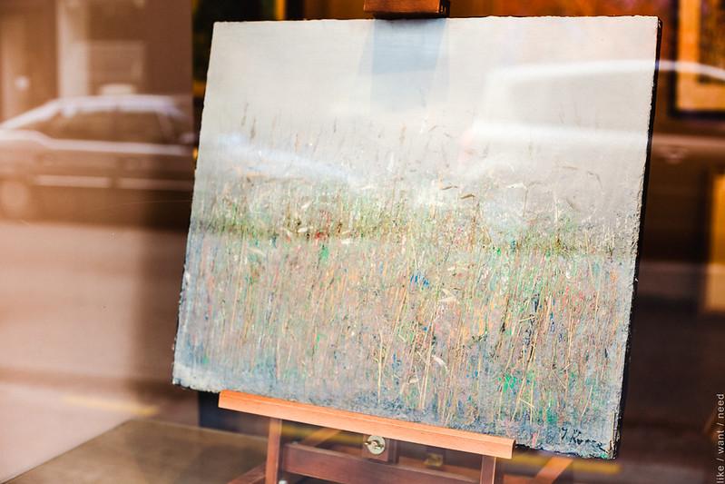 Saint-Germain gallery window
