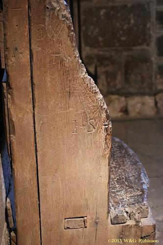 Bede's Chair, St Paul's Jarrow