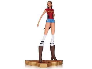 DC Collectibles –【神力女超人俠盜獵車手版】Wonder Woman The Art of War Statue 漫畫家限定 第四彈