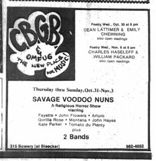 Oct. 1974 CBGBII