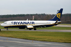 Ryanair, EI-EBZ, Boeing 737-8AS