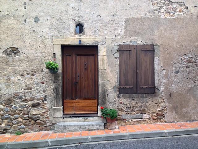 Montolieu House Front