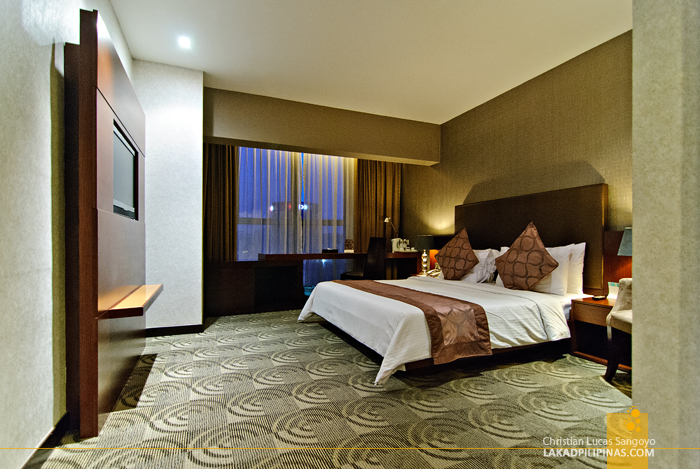 StarPoints Hotel Deluxe Room in Kuala Lumpur
