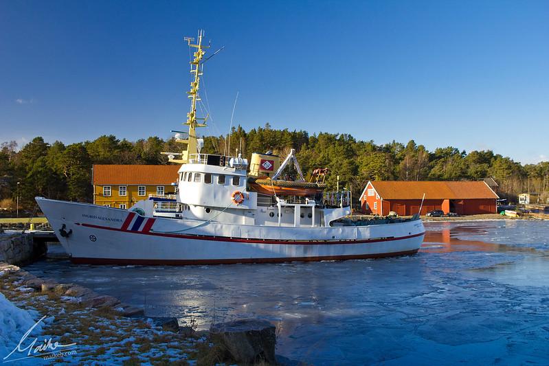 Friset sjø på Sørlandet