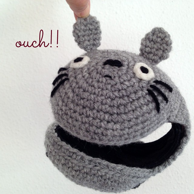 totoro earmuffs for kids