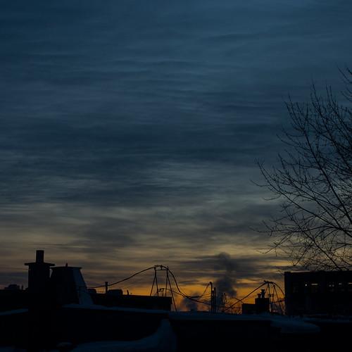 winter canada clouds sunrise lights pentax quebec montreal k5 pentaxk5 k5ii