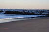 Ocean Jetty with Snow