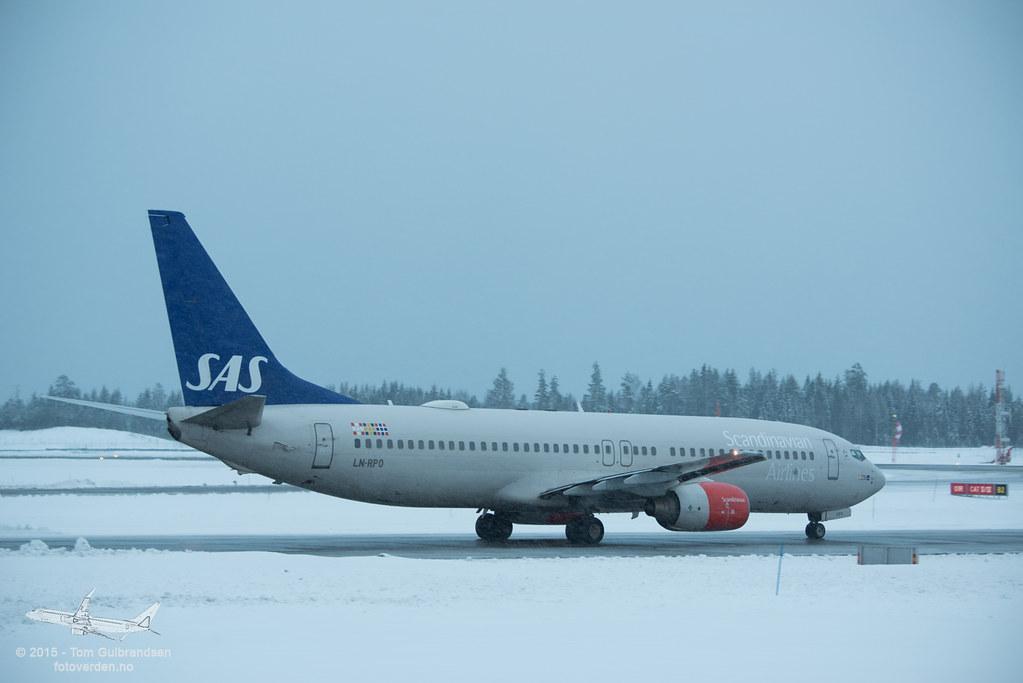 LN-RPO - B738 - SAS