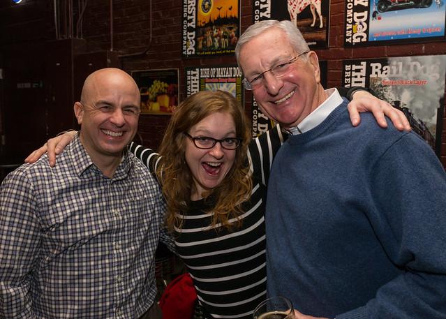 Steve, Laura, Dad