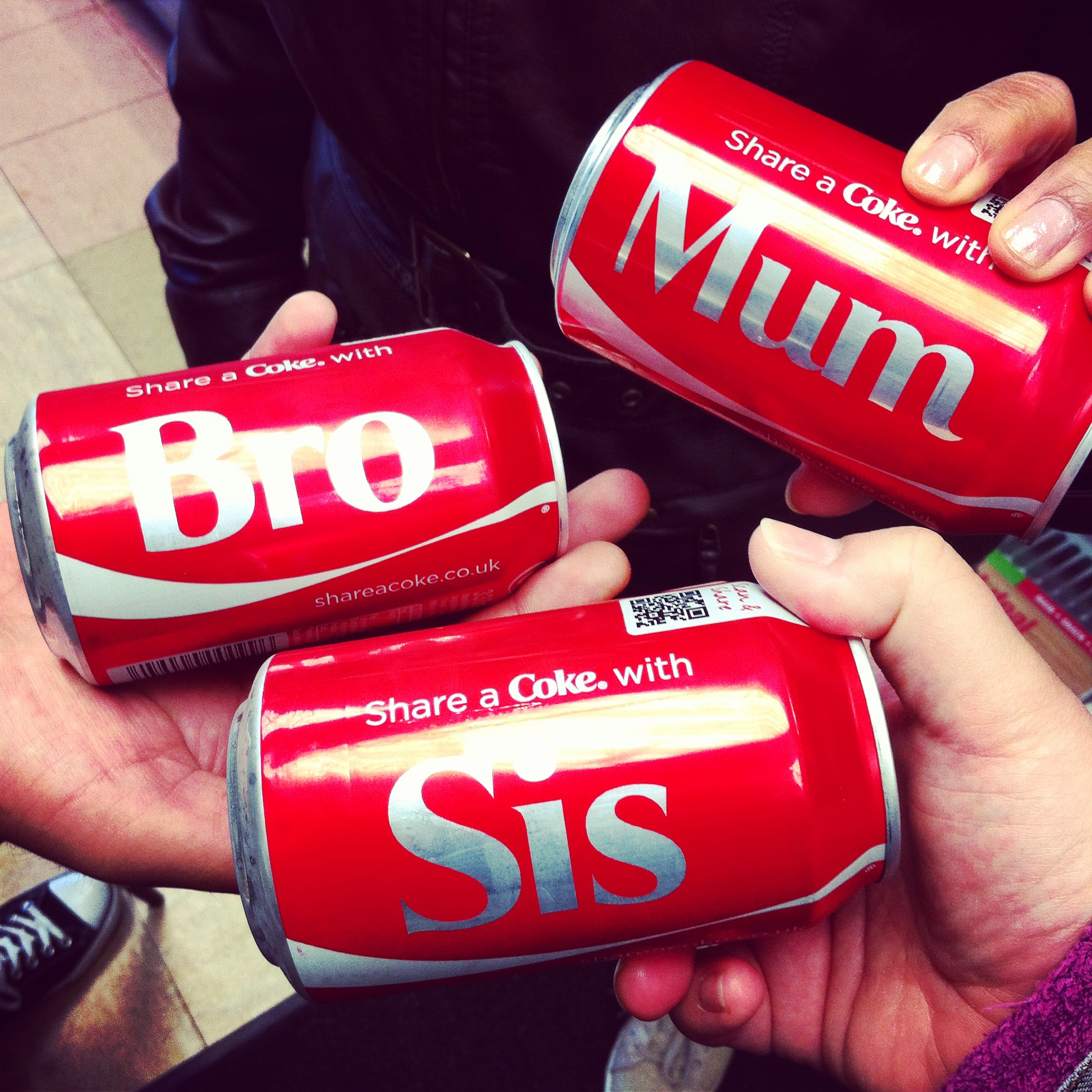 Personalized Coke Cans
