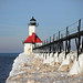 St. Joseph North Pier Inner Lighthouse by nightrider_52 ( Ridin' 66 )