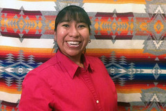 Phoebe Suina of High Water Mark, one of this year's Native American VAF recipients.