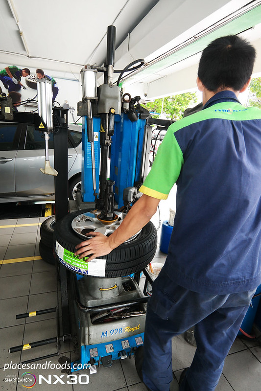 michelin tyreplus tyre balancing