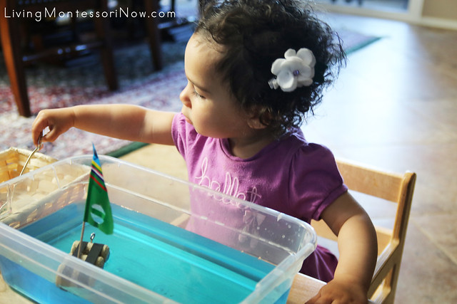 Working with a Sink and Float Activity